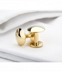 wedding photo - Gold Plated Cufflinks - Gold cufflinks
