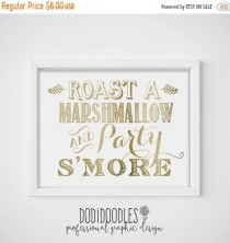 wedding photo - 70% OFF THRU 11/10 ONLY s'mores, s'mores bar, s'mores sign, s'mores bar sign, s'mores bar station, smores sign, smores bar sign, gold weddin