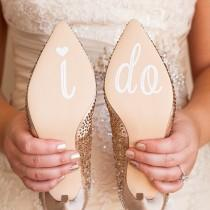 wedding photo - I Do Decal, I Do Sticker, Wedding Decals, Wedding Shoe Sticker, I Do Brides Shoe Stickers, Wedding Decor, Wedding Shoe, I Do Stickers, I Do