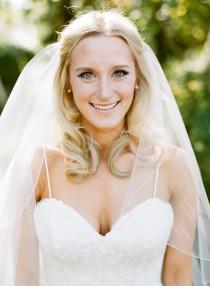 wedding photo - Pencil Edge Bridal Veil Wedding Veil white, ivory, Wedding veil bridal Veil Fingertip Elbow Cathedral Chapel Waltz length veil bridal veil