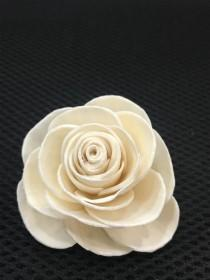 wedding photo - Sola Wood Flower Rosie  (For 100 flowers) - MOQ 10 in mixing quantity