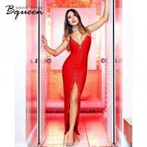 wedding photo - Sexy Split Open Back Slimming Rivet Accessories Fall Strappy Top Dress - Bonny YZOZO Boutique Store