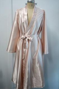 wedding photo - Satin Bridesmaids Robe