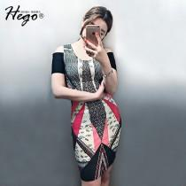 wedding photo - Vintage Attractive Printed Slimming Off-the-Shoulder Summer Formal Wear Dress - Bonny YZOZO Boutique Store
