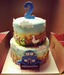 wedding photo - Little Blue Truck Cake Kit
