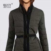 wedding photo - Quality slim long sleeve plus size short bi-2017 new winter down jacket women - Bonny YZOZO Boutique Store