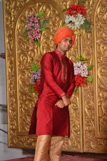wedding photo - handmade sherwani for mens and young boys