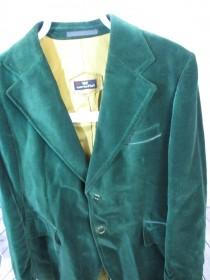 wedding photo - Green Velvet Jacket