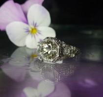 wedding photo - Herkimer Diamond, Herkimer Diamond Ring, Natural Herkimer Diamond, Direct From the Source, Gemstone Ring