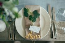 wedding photo - Place Name.Wooden Wedding Place Setting.Wedding Place Cards.Wooden Wedding Place Name