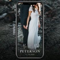 wedding photo - Mr Mrs Wedding Snapchat Geofilter Wedding Snapchat Filter Wedding Snapchat Wedding Filter Couple Snap Chat Heart Cursive Surname