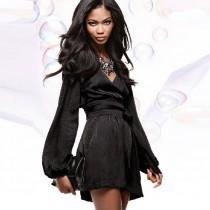 wedding photo - Vogue Attractive V-neck Princess Summer 9/10 Sleeves Culotte - Bonny YZOZO Boutique Store
