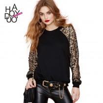 wedding photo - Split Front Embroidery Lace Floral Gold Hoodie Sport suit - Bonny YZOZO Boutique Store