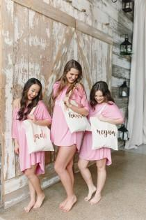 wedding photo - Bridesmaid Bags, Bridesmaid Tote Bags, Bridesmaid Bag, Wedding Tote Bags, Bridal Party Gifts, Bride, Custom Tote Bag, Bachelorette
