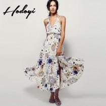 5bf0a8e182 wedding photo - Ladies summer 2017 new Bohemian long skirts and dresses in  summer beach chiffon