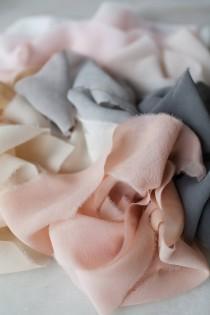 """wedding photo - Silk Chiffon Ribbon, 2"""" wide"""