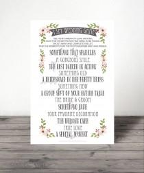 wedding photo - I Spy Wedding Game - I Spy Game - Wedding Game - Wedding Reception Game - Instant Download - Print at Home - 8.5x11 and A4 sizes