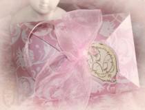 wedding photo - Invitation Boxes, Pink Peony Shimmer, Aqua Paisley Shimmer, Laduree Green Shimmer, Pink Shimmer, Aqua Shimmer