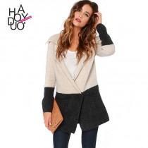 wedding photo -  Vogue Solid Color Jersey Sweater Shawl - Bonny YZOZO Boutique Store