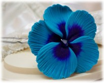 wedding photo - Hibiscus Hair Clip Pin - Hibiscus Hair Flower, Tropical Flower hair Pin, Hibiscus Wedding Hair Accessories