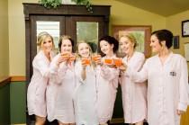 wedding photo - Light Pink Boyfriend Shirt,  Holiday pajamas, Pj sets, ButtonDown Shirt, Bridesmaids Shirts, Maternity Wear, pajama set, long shirt set
