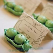 wedding photo -  倍樂禮品®新娘回禮二次進場伴手禮可愛小豌豆調味罐INS婚禮小物胡椒瓶TC002