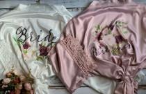 wedding photo - Lace Bridesmaid Robes