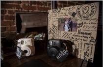 wedding photo - Custom Mini Chalkboard Signs - Hanging (Set of 2)