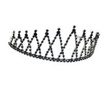 wedding photo - Evil Queen Black Rhinestone Crown