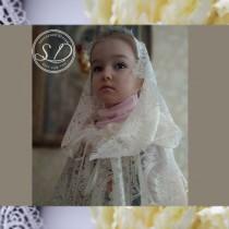 wedding photo - Bridal hooded cape
