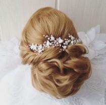 wedding photo - Free shipping!!Extra Long Hair Vine,Bridal Hair Vine,Wedding Hair Vine,Crystal Hair Peice,Bridal Jewelry,Hair vine.wedding hair vine