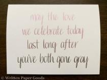 wedding photo - Wedding Congratulations Card - Congrats Newlyweds - Happy Couple - Ombré Hand Lettering - Straight/Gay/Lesbian Love is Love is Love