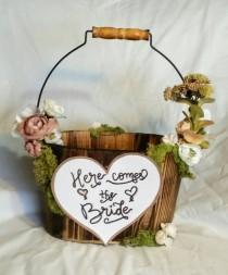wedding photo - Flower Girl Basket
