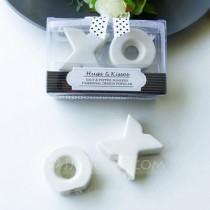 wedding photo -  Beter Gifts® Lovely Bride and Groom Ceramic Salt & Pepper Shakers