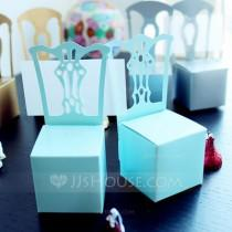 wedding photo -  BeterWedding Girls Pink Chair Favor Box and Place Card Holder (Set of 12)