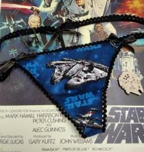 wedding photo - Star Wars Spaceship panties