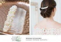 wedding photo - bridal comb