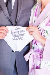wedding photo - Custom Handkerchief - Personalized Handkerchief - Embroidered Handkerchief - Monogrammed Handkerchief - Groom Gifts - Wedding Party Gifts