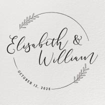 wedding photo - RUBBER WEDDING STAMP, Wedding Stamp, Personalized Rubber Stamp, Custom Wedding Stamp, Diy Wedding, Wedding Favor Stamp, Wedding Stamps
