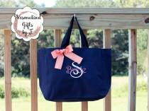 wedding photo - 11 Personalized Tote Bags, Gifts for friends, Gifts for co workers (ESS1)