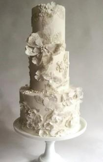 wedding photo - Wedding Cake Inspiration - Maggie Austin Cake