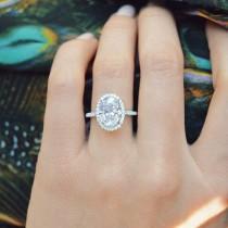 wedding photo - Discover Great Halo Wedding Rings 3529 #haloweddingrings