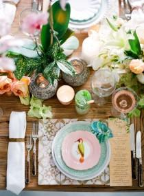 wedding photo - Authentic Colorful Cuban Wedding Inspiration