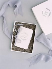 wedding photo - DIY Calligraphy Vow Books With Free Download