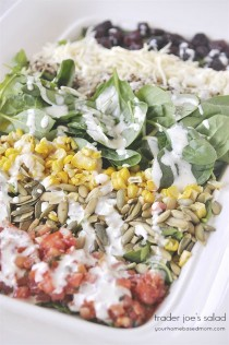 wedding photo - Trader Joe's Salad