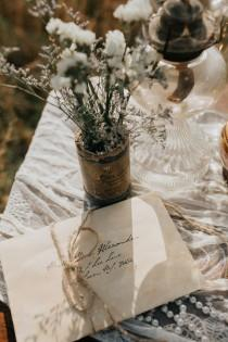 wedding photo - Timeless Vintage Country Wedding Inspiration