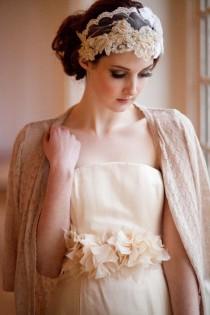 wedding photo - Aisle Style:Keep Cozy With Bridal Cardigans!