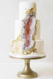 wedding photo - This May Be The Next Big Wedding Cake Trend