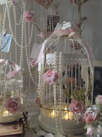 wedding photo - Vintage Wedding Birdcages
