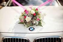 wedding photo - Decoration8059 Modern Wedding Car Decoration Ideas